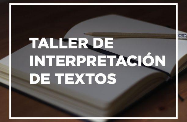 Taller de Interpretación de Textos