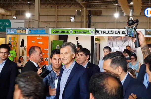 Mauricio Macri recorrió la Feria de Innovación Educativa