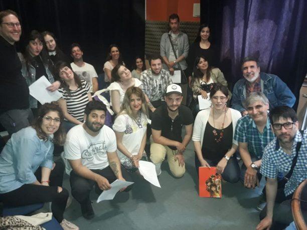Casting de voces en ISER