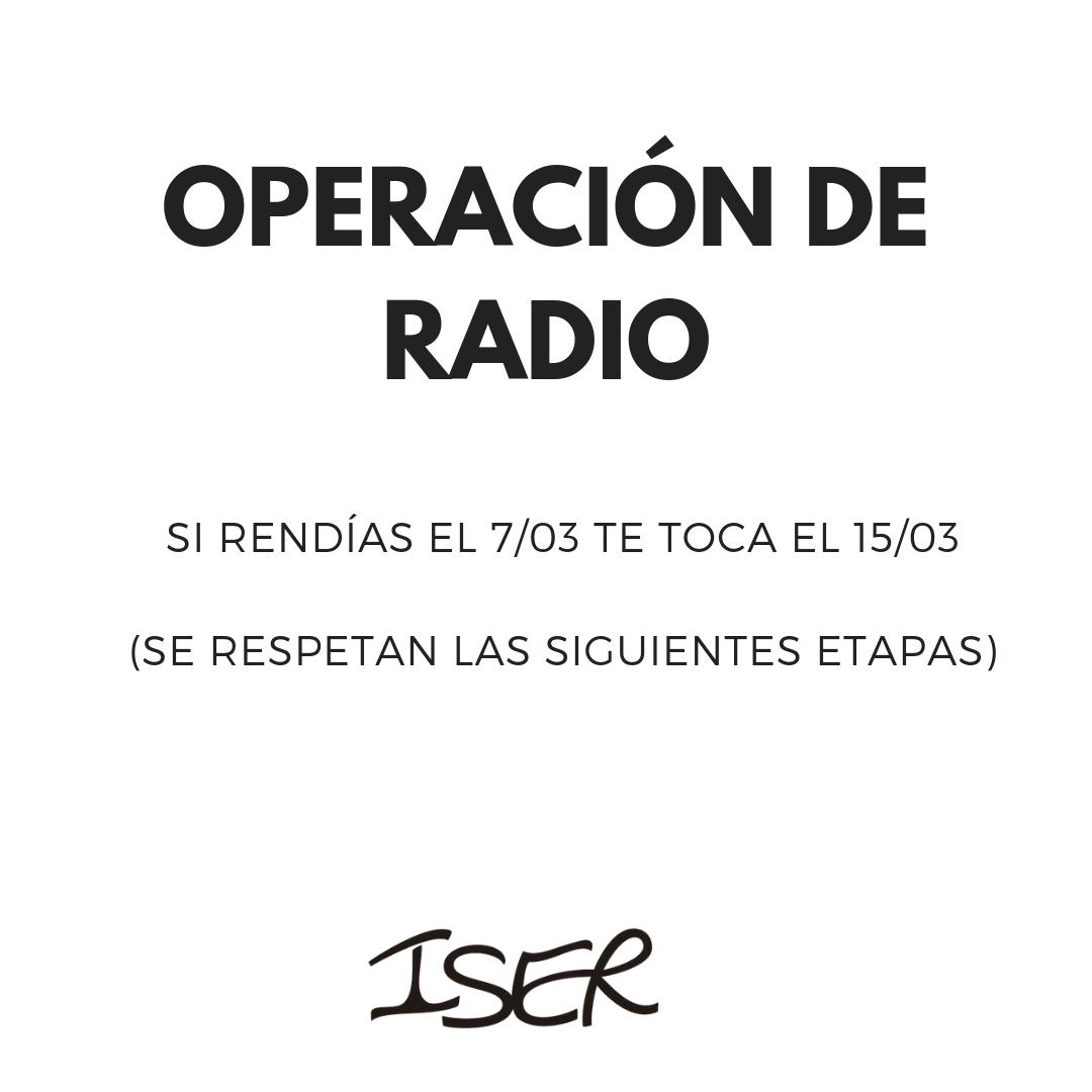 Operación de Radio
